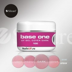 BASE ONE COVER DARK 100G