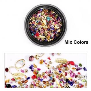 Paiete Mix Decor Nail Art -...