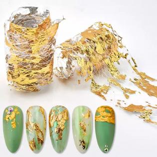 Folie Aurie Nail Art