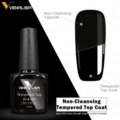 TEMPERED NO-WIPE TOP COAT...