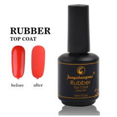 RUBBER TOP COAT MATT 15ML FSM